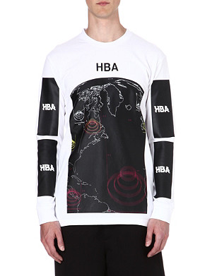 HOOD BY AIR Graphic-print top