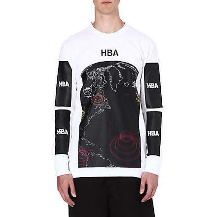 HOOD BY AIR Graphic-print top (White