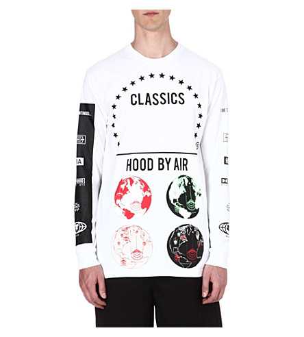 HOOD BY AIR Globes top (White