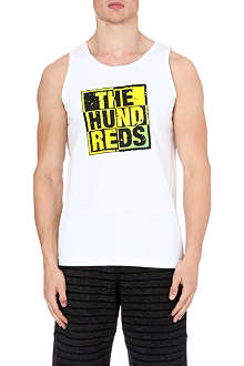 THE HUNDREDS Block logo vest top