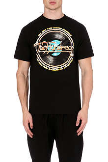 THE HUNDREDS Vinyl graphic t-shirt