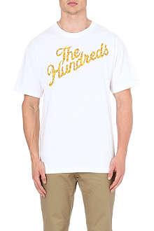 THE HUNDREDS Slant logo t-shirt