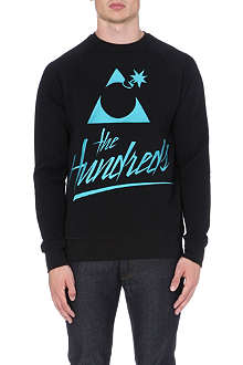 THE HUNDREDS 80s logo bomb sweatshirt