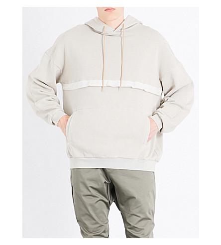 MAGIC STICK Psycho cotton-jersey hoody (Fade+light+grege