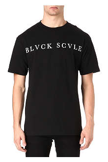 BLACK SCALE Logo graphic t-shirt