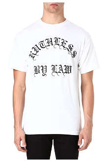 BLACK SCALE Ruthless graphic t-shirt