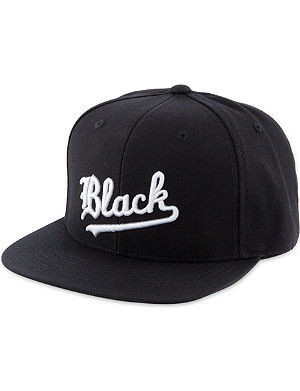 BLACK SCALE Strikeout snapback