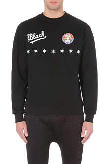 BLACK SCALE Upper Leage Star Line jersey sweatshirt