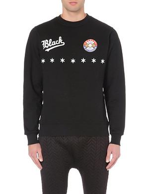 BLACK SCALE Upper Leage Star Line jersey sweatshirt