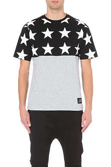 BLACK SCALE Star print t-shirt