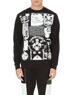 BLACK SCALE Scale the Societies Silent sweatshirt