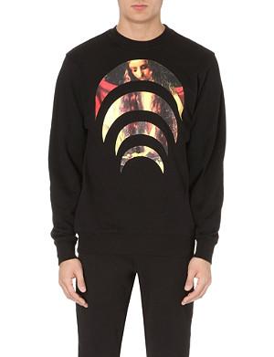 BLACK SCALE Death Crescent ll sweatshirt