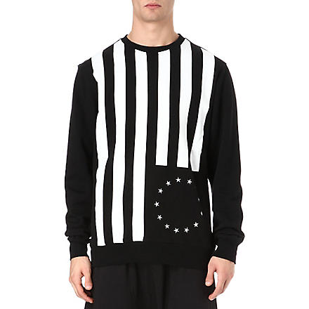 BLACK SCALE Rebel sweatshirt (Black