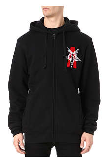 BLACK SCALE Abstract Reality hoody