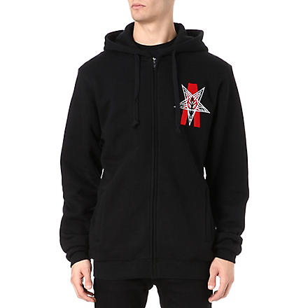 BLACK SCALE Abstract Reality hoody (Black