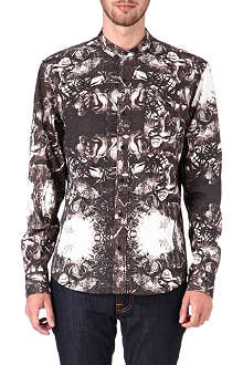 BLACK SCALE Sultan print shirt