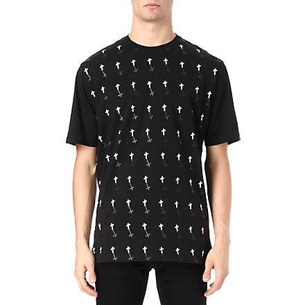 BLACK SCALE Field of Dreams t-shirt (Black