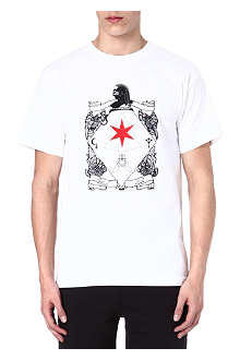 BLACK SCALE Six pointed knight t-shirt