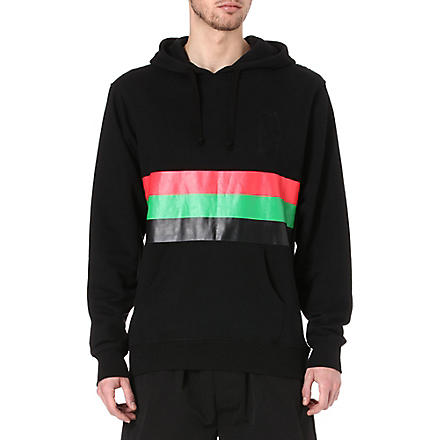 BLACK SCALE Abstract hoody (Black
