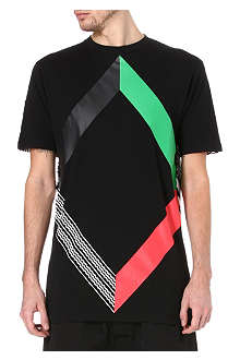 BLACK SCALE Abstract t-shirt