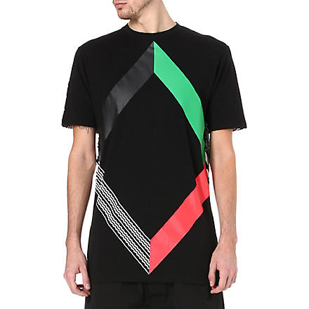 BLACK SCALE Abstract t-shirt (Black