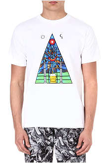BLACK SCALE Cathedral t-shirt
