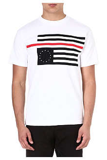 BLACK SCALE Rebel Red Flag t-shirt