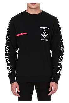 BLACK SCALE Windows To Your Soul sweatshirt