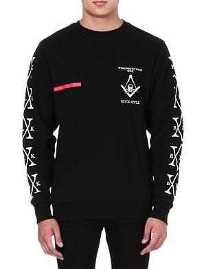BLACK SCALE Windows To Your Soul sweatshirt