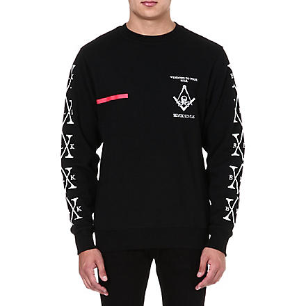 BLACK SCALE Windows To Your Soul sweatshirt (Black