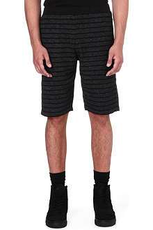 BLACK SCALE O'neal striped shorts