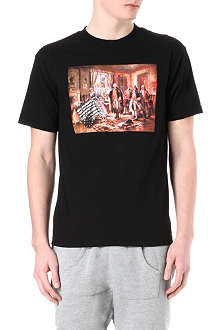 BLACK SCALE Old Glory t-shirt