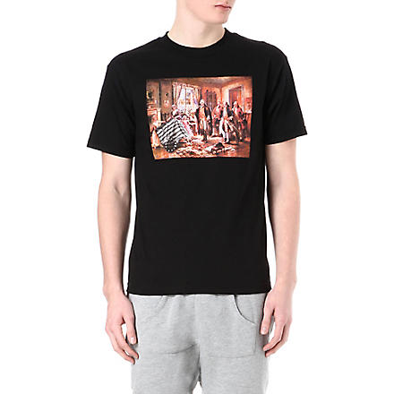 BLACK SCALE Old Glory t-shirt (Black