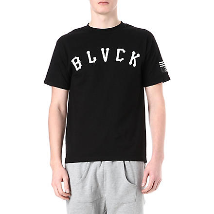 BLACK SCALE Winter League t-shirt (Black
