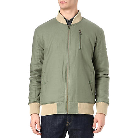BLACK SCALE Crow II bomber jacket (Olive