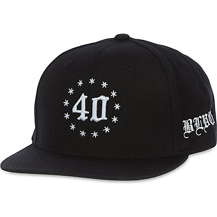 BLACK SCALE SF embroidered logo baseball cap (Black