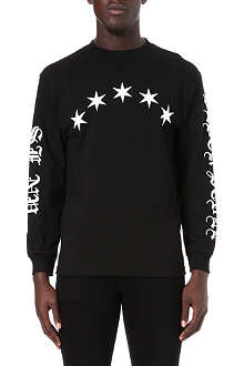 BLACK SCALE Logo-printed star top