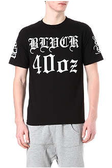 BLACK SCALE Logo-printed star t-shirt