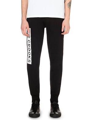 CROOKS AND CASTLES Klepto jogging bottoms