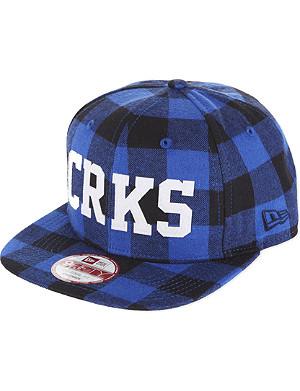 CROOKS AND CASTLES Thuxury chain strapback cap