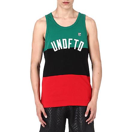 UNDEFEATED International cotton vest (Green