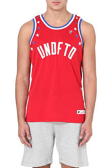 UNDEFEATED Star mesh vest