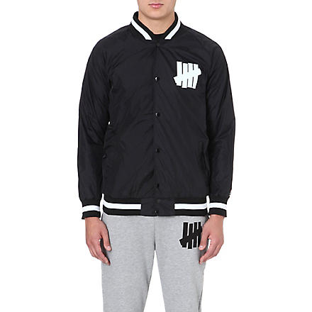 UNDEFEATED Blackball varsity jacket (Black