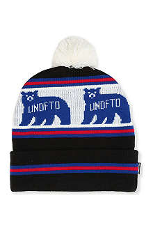 UNDEFEATED Denver Bear pom pom beanie