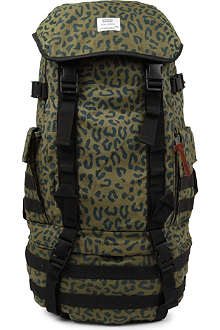 UNDEFEATED Leopard print combat backpack