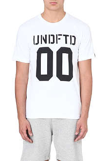 UNDEFEATED 00 cotton t-shirt