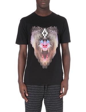MARCELO BURLON Samir baboon-print t-shirt