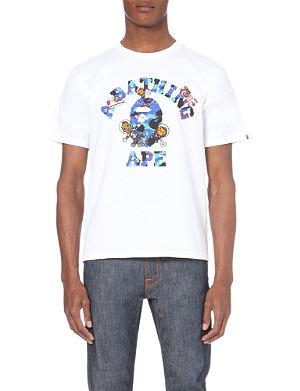 A BATHING APE Kid Cudi cotton t-shirt