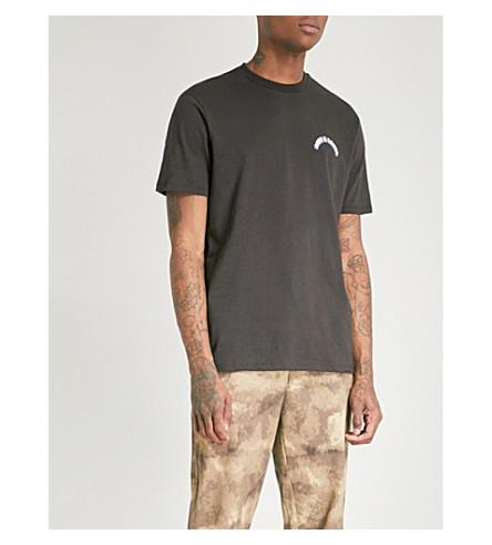 BORN X RAISED Blockbuster cotton-jersey T-shirt (Black