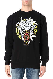 CROOKS AND CASTLES Horsebit Medusa sweatshirt